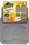 ARMOR ALL FLOOR MAT 4PC CARPET/RUBBER GREY