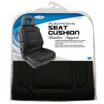 Custom Accessories  Black Therapeutic Lumbar Seat Cushion
