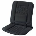 Custom Accessories  Black Therapeutic Lumbar Seat Cushion