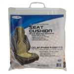 Custom Accessories  Tan Wood Beaded Comfort Seat Cushion