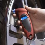 Digital Tire Gauge with LED Nighttime Light