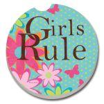 GIRLS RULE AUTO COASTER