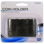Black Plastic Coin Holder
