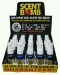 Scent Bomb 1oz Pure Concentrated Air Freshener 20 PCS  Display Asst #1