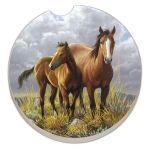 HORSES AUTO COASTER