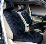 Seat Cushion FF Black / Red Sewing