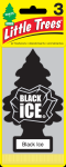 LITTLE TREE 3 PK. BLACK ICE