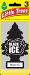 LITTLE TREE 3 PK. BLACK ICE