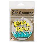 LIFE'S A BEACH  AUTO COASTER