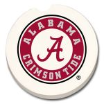 ALABAMA CRIMSON TIDE  AUTO COASTER