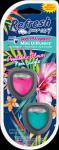 Refresh Mini Diffuser 2 Pk Psychedelic Flower/Neon Jungle