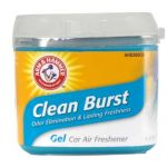 Arm & Hammer AH8300CB Gel Canister Air Freshener - Clean Burst