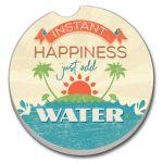 INSTANT HAPPINESS AUTO COASTER