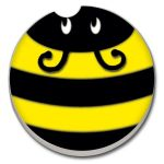 BUMBLE BEE  AUTO COASTER