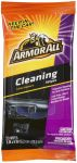 Armor All Cleaning Wipes Flat Pack, 20ct