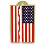Police Flag Air Freshener - New Car Scent - 2 Pack