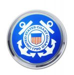 CHROME EMBLEM COAST GUARD EMBLEM