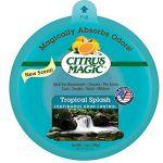 Citrus Magic 6 Pack Solid Air Freshener Tropical Squash