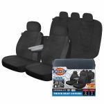 LB ARLINGTON 3PC Black Truck Seat Cover