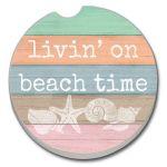 Living On Beach Time   AUTO COASTER