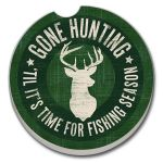 Gone Hunting   AUTO COASTER