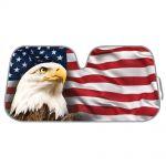 Universal Fit Sunshade, American Eagle Flag