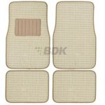 Berber Carpet 4 pcs Floor Mats Beige