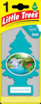LITTLE TREE 1 PK. RAINFOREST MIST
