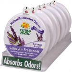 Citrus Magic 6 Pack Solid Air Freshener Lavender