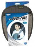 Custom Accessories 31565 Grey Fleece Comforter Seat Belt Pad