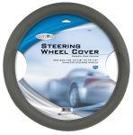 Custom Accessories 38406 Select Series Grey Molded Steering Wheel Cover