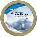 Custom Accessories 38407 Select Series Tan Molded Steering Wheel Cover