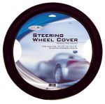 Custom Accessories 38550 Road Pilot Black Ultra-Soft Molded Steering Wheel Cover