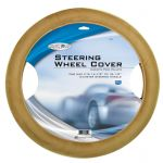 Custom Accessories 38551 Road Pilot Tan Ultra-Soft Molded Steering Wheel Cover