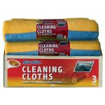 Detailers Choice 3 pk Roll Of Microfiber Towells