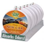Citrus Magic 6 Pack Solid Air Freshener New Car