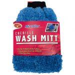 Detailer's Choice blue Microfiber Chenille Wash Mitt