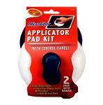 Detailer's Choice Microfiber Applicator Kit, (Pack of 2)