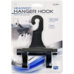 Custom Accessories Headrest Twin Hanger Hooks
